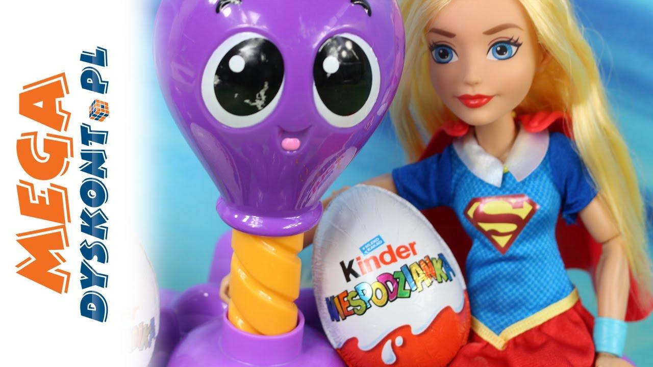 Schowane jajka  DC Super Hero Girls & Kinder Niespodzianka & Little   -> Kuchnie Dla Dzieci Little Tikes