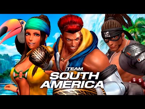 Team South America - Complete Story Mode Walkthrough - The King of Fighters XIV [English, Full HD] - 동영상