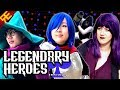 Download LEGENDARY HEROES: A Deltarune Song (feat. OR3O, Angi Viper, and Genuine) [by Random Encounters]