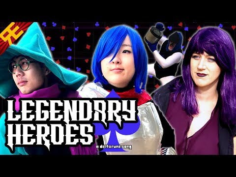 LEGENDARY HEROES: A Deltarune Song (feat. OR3O, Angi Viper, and Genuine) [by Random Encounters]