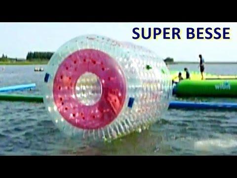 Super Besse structures gonflables à la Base nautique