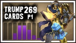 Hearthstone: Trump Cards - 269 - Tryharding - Part 1 (Paladin Arena)