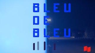 BLEU DE BLEU: une installation artistique du professeur Alain Paiement