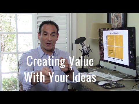 Create Value So People Buy Your Stuff - Pt 1