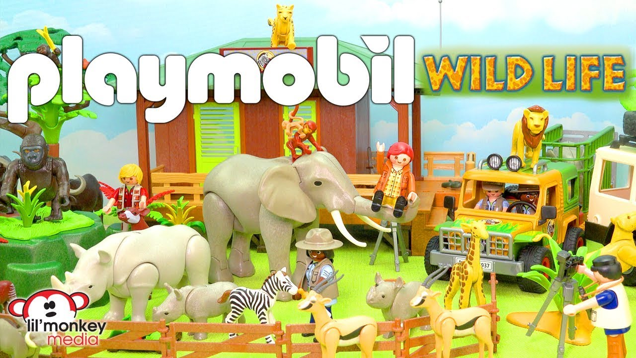 playmobil wild life collection build and play find out how amazon john ricardo gets his name. Black Bedroom Furniture Sets. Home Design Ideas