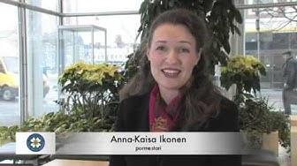 Pormestari Anna-Kaisa Ikosen videotervehdys