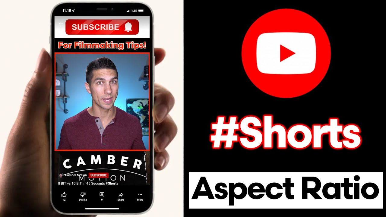 BEST Aspect Ratio for YouTube SHORTS – How to Change Aspect Ratio to 9:16 for Shorts