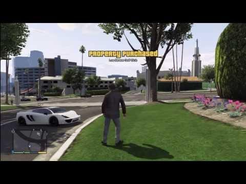 GTA 5: Buying Los Santos Golf Club $150,000,000 With A Lamborghini Aventador