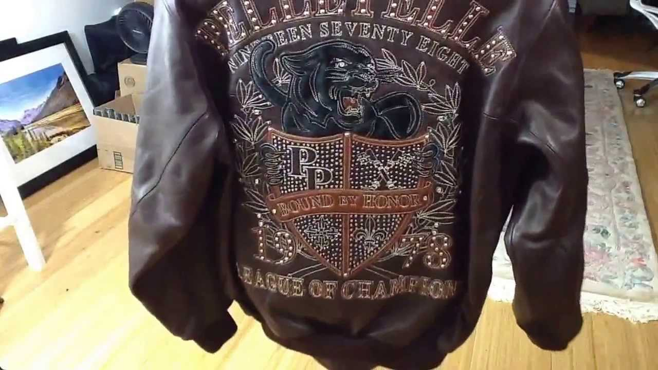 Pelle Pelle leather panther crest Barcelona. - YouTube