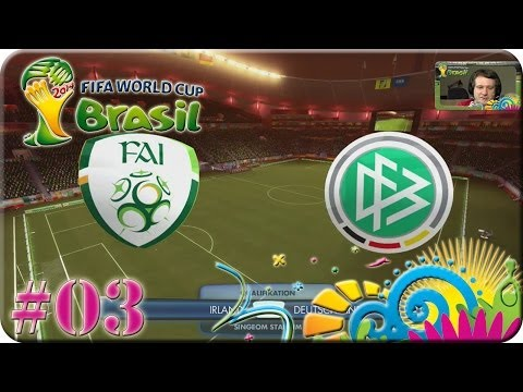 FIFA WM Brasilien 2014 - Deutschland gg Irland [Lets Play #03]