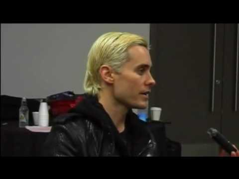 Jared Leto from 30 Sec... Jared Leto Interview