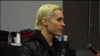 Repeat youtube video Jared Leto from 30 Seconds To Mars - The full interview New Zealand.flv