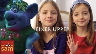 FIXER UPPER - FROZEN | 10-Year-Old Sophia & 8-Year-Old Bella Mugglesam Kids