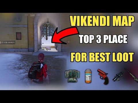 Pubg Mobile Vikendi Map Top 3 Best Loot Location Pubg Mobile Snow