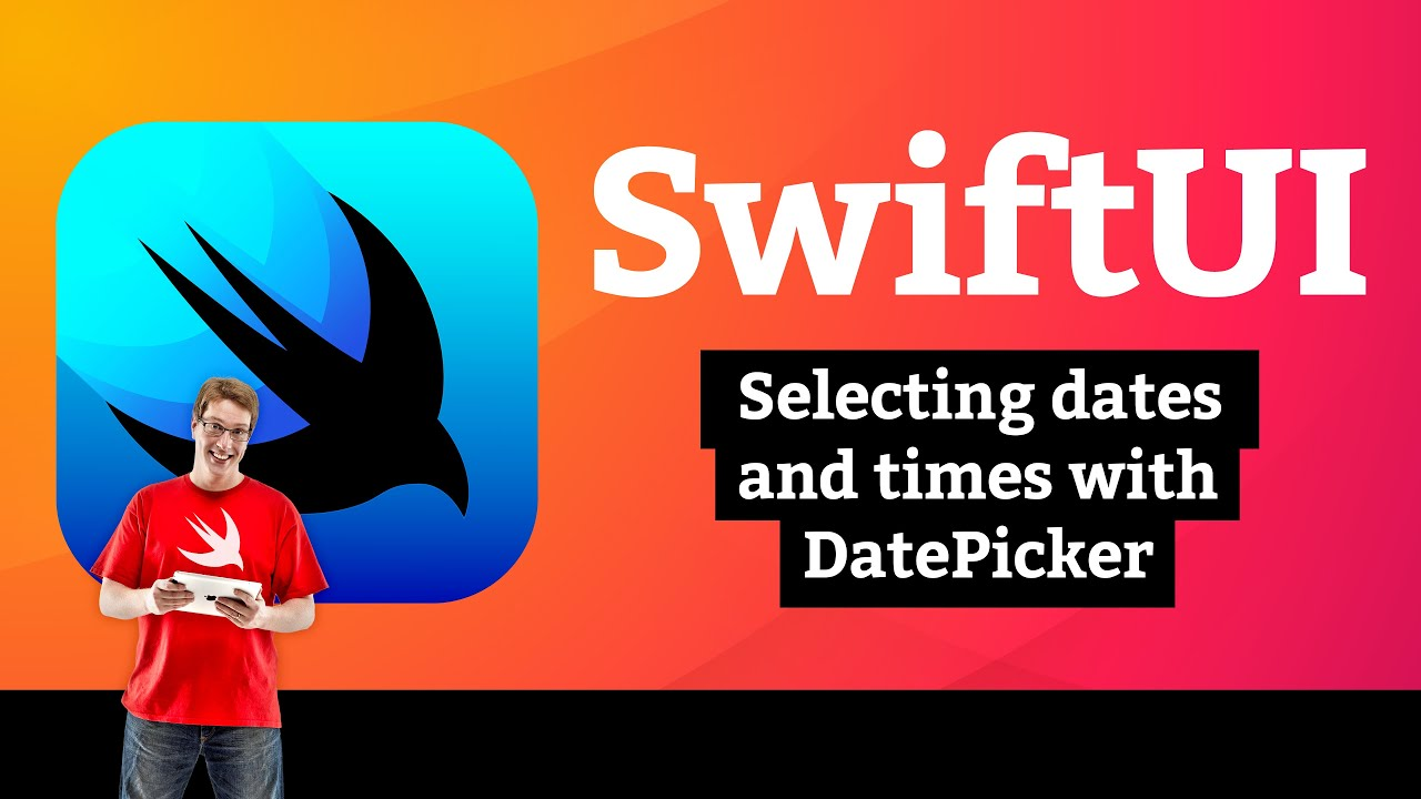 BetterRest 2/7: Selecting dates and times with DatePicker – SwiftUI Tutorial