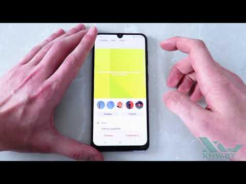 Как установить фото на контакт в Samsung Galaxy A30 (XHW.BY)