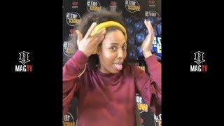 Black Ink CHI: Charmaine Throws Major Shade At Ryan & 9Mag On IG Live! (2018)