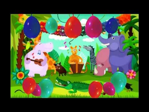 Kinder - Faschingslied 2018 (Bewegungslied-Selbsterklärend) ♪ KiGa Tierlied, Kinderdisco, Tanzlieder