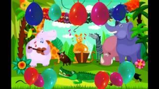 Faschingslied (Selbsterklärend-Bewegungslied) Karneval Kinderlieder /Kinderdisco Tanzlied Tierlieder