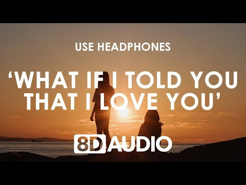 Ali Gatie - What If I Told You That I Love You (8D Audio / Lyrics) 🎧
