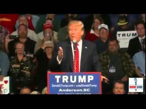 FULL SPEECH: Donald Trump ROCKS Anderson, SC Rally (10 19 15)