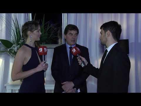 Daniel Delfino destacó la organización de los Premios AET