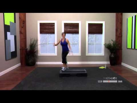 Step aerobics with music with Dana  30 Minutes
