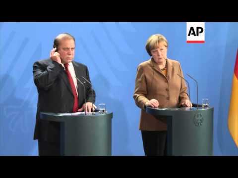 Chancellor Merkel meets
