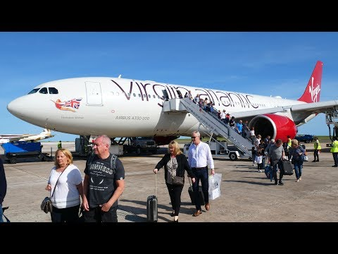 *TRIP REPORT* Virgin Atlantic A330-200 (Ex Air Berlin)- Manchester to Bridgetown- ECONOMY