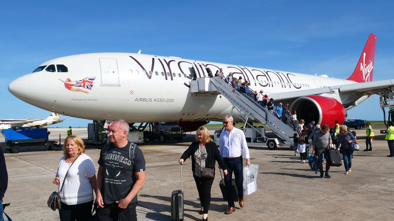 *TRIP REPORT* Virgin Atlantic A330-200 (Ex Air Berlin)- Manchester to  Bridgetown- ECONOMY