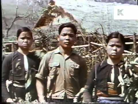 1960s Vietnam War, US Soldier Captured, Color Footage