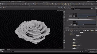 CGI Rose using Houdini and Redshift by Stephen Bester | VFX