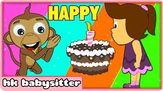 Happy Birthday Song Plus More Kids Party Songs | By HooplaKidz BabySitter