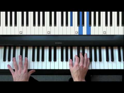 How to play Your Song by Elton John on Piano - Introduction (first 4 measures)
