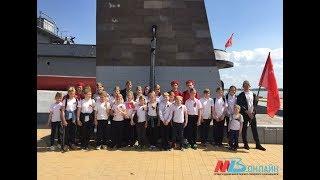 В рамках урока Победы волгоградские школьники прошли 9 км