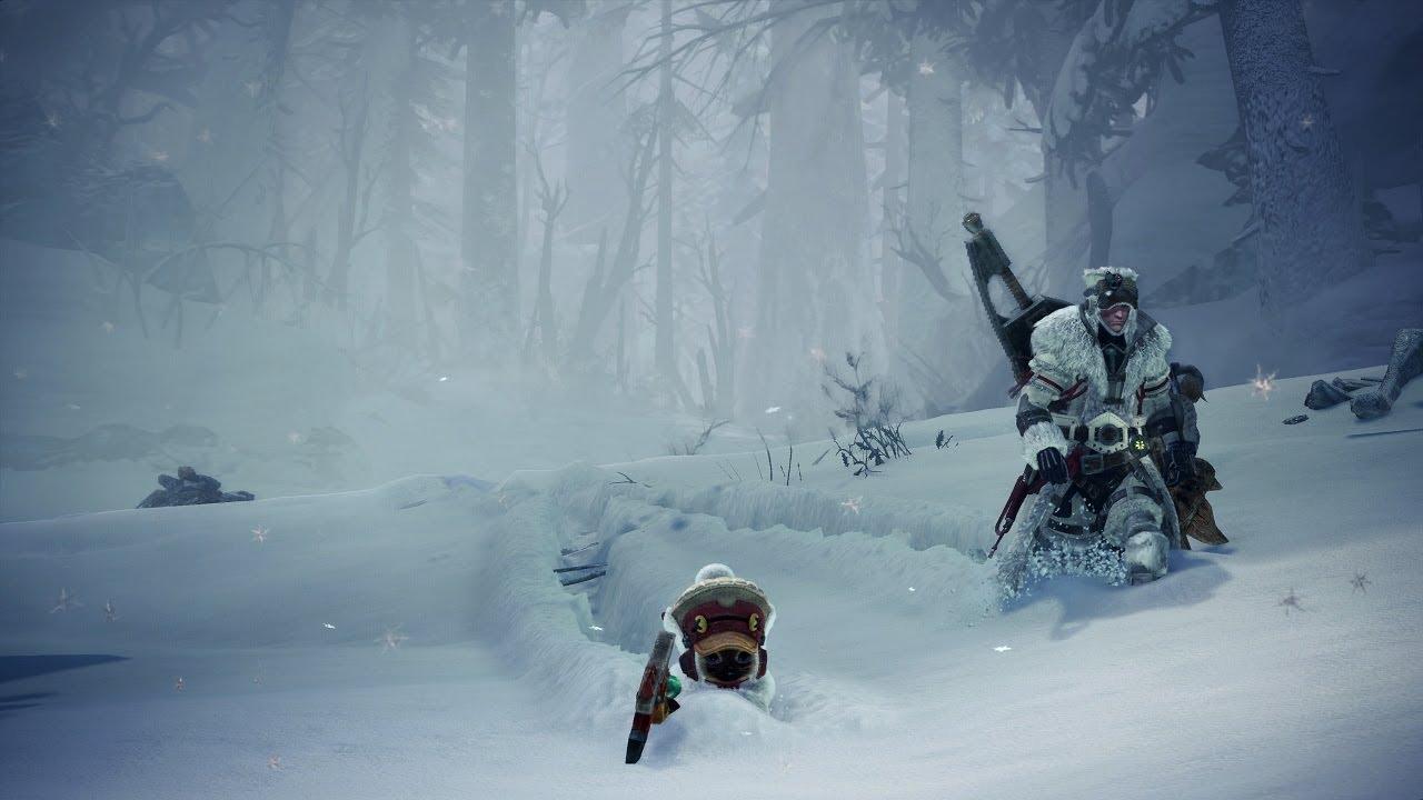 Monster Hunter World: Iceborne 트레일러