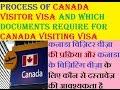Process Of Canada Visitor Visa