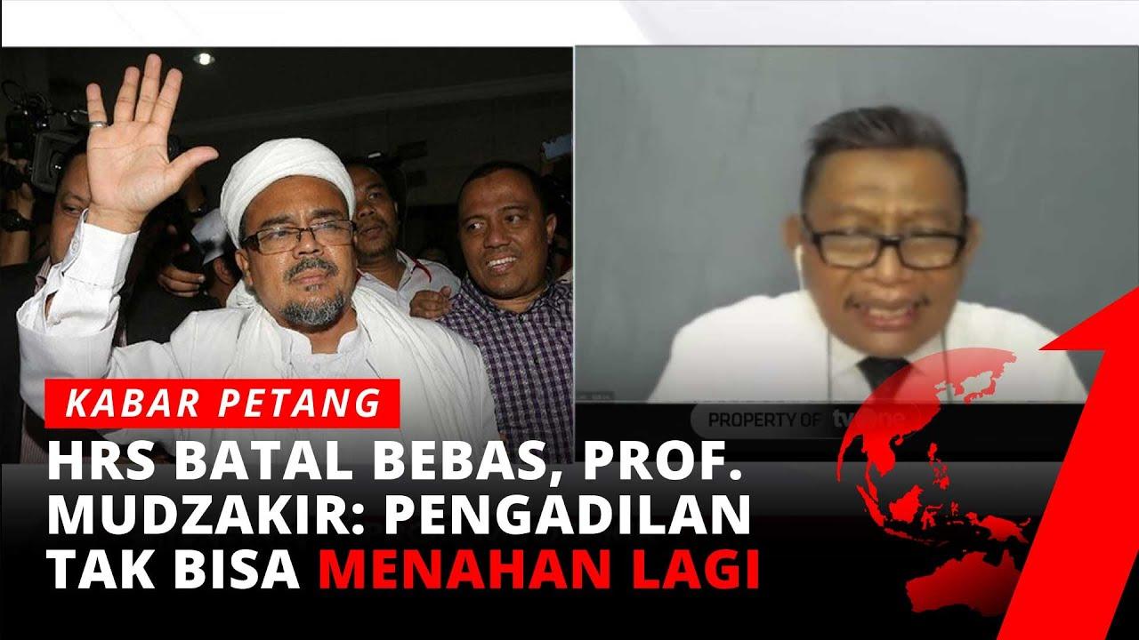 Download HRS Batal Bebas Kasus Kerumunan, Kenapa?   Kabar Petang tvOne