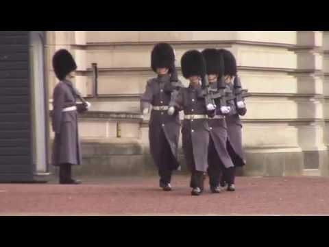 Changing of the Guard at Buckingham Palace, 28th of January 2018