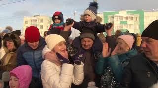 Новый год ЖК Окский берег, Нижний Новгород