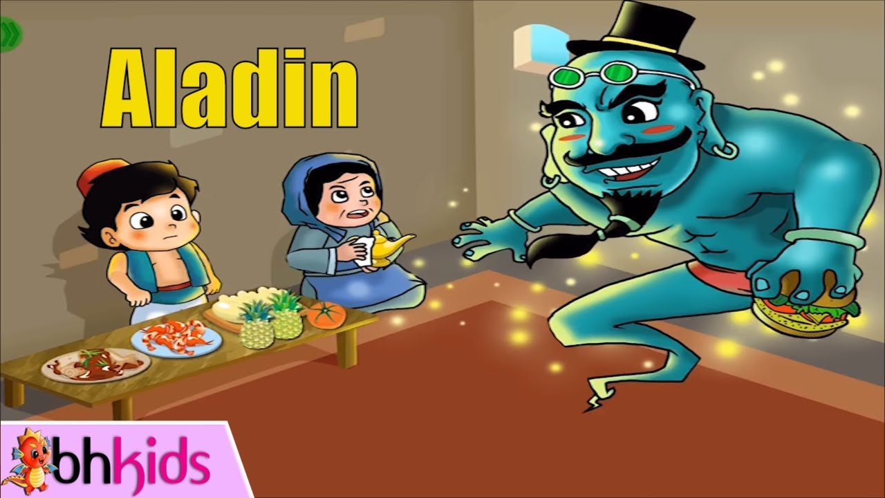 Aladdin And The Magic Lamp | Bedtime Story English - Truyện Tiếng Anh