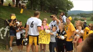 2015 Pittsburgh Steelers Training Camp Vlog!