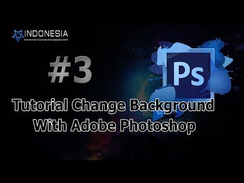 Tutorial Change Background Pass Photo With  Adobe Photoshop thumbnail