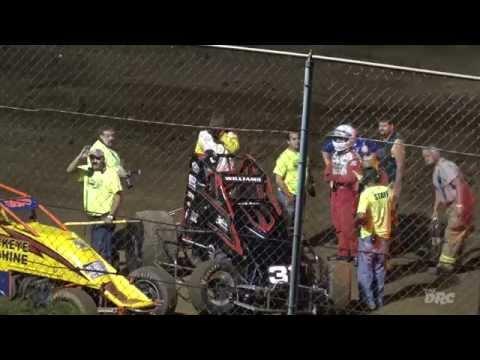 NBTF: Twin Cities Raceway Park | 7.3.15 | 410 Sprints | Jamie Williams Wild Flip