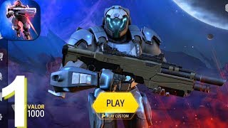 Armajet Online PVP Shooter Walkthrough Part 1 - Android iOS Gameplay HD screenshot 1