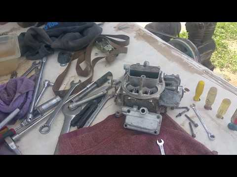 How to Adjust Float Height Adjustment Any Carburetor No Special Tools