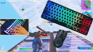 Apex Pro Fortnite Satisfying🤩Keyboard Clicks ASMR Omnipoint Switch 240 FPS Smooth 1440P