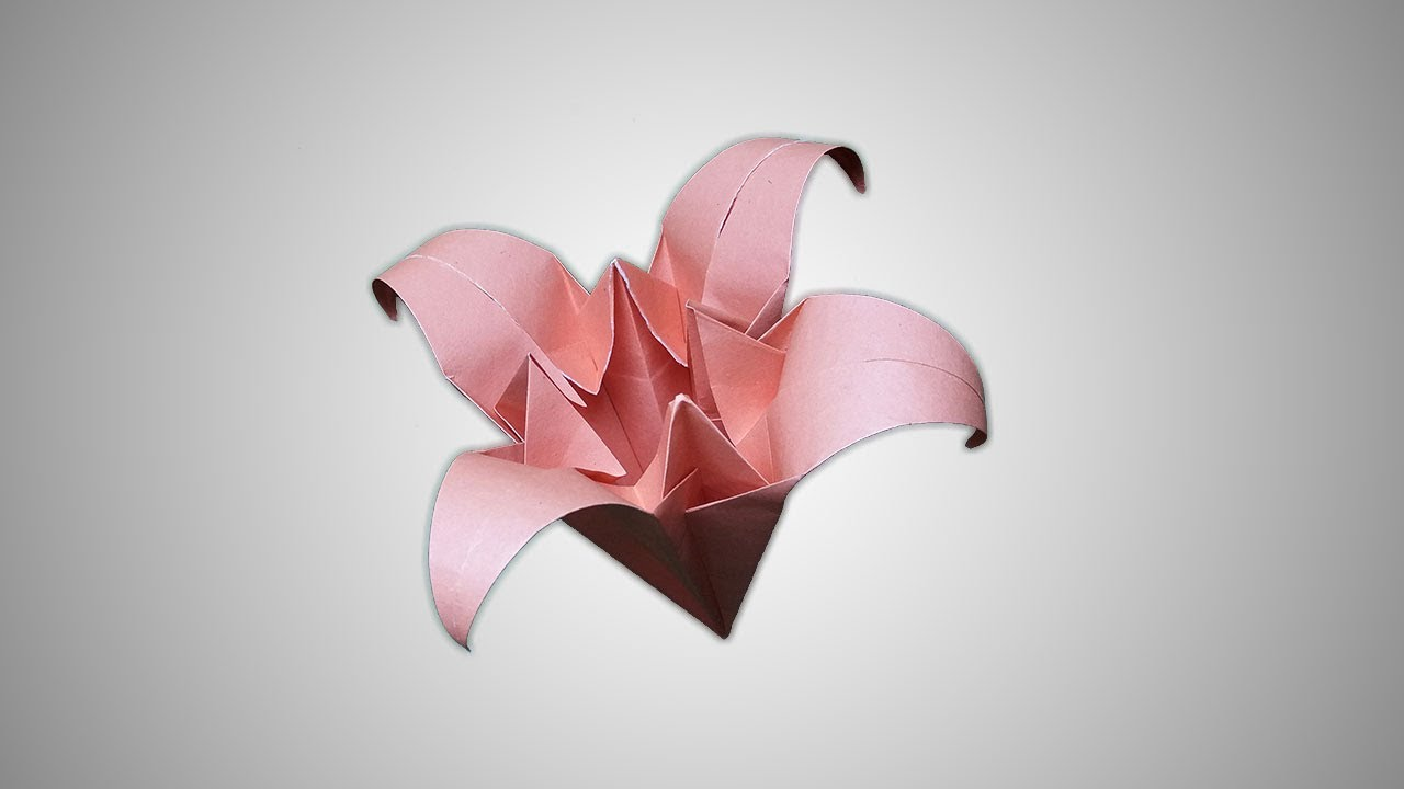 How To Make An Origami Iris Flower Origami Iris Flower Folding