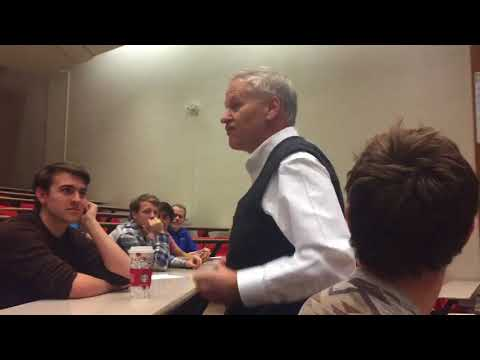 Don Mathiesen, NYC Broadcast Journalist, Speaks to Geneseo Communication Students