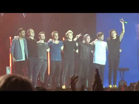ONE DIRECTION - DRAG ME DOWN AND LAST HUGS  | SHEFFIELD 31/10/15